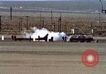 Image of rocket powered car California United States USA, 1979, second 28 stock footage video 65675041232
