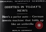 Image of Parlor Auto Berlin Germany, 1929, second 4 stock footage video 65675041243