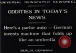 Image of Parlor Auto Berlin Germany, 1929, second 5 stock footage video 65675041243