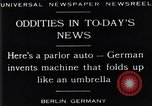 Image of Parlor Auto Berlin Germany, 1929, second 7 stock footage video 65675041243