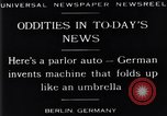 Image of Parlor Auto Berlin Germany, 1929, second 13 stock footage video 65675041243