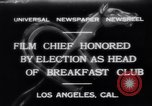 Image of Breakfast Club Los Angeles California USA, 1930, second 1 stock footage video 65675041246