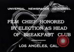 Image of Breakfast Club Los Angeles California USA, 1930, second 2 stock footage video 65675041246