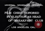 Image of Breakfast Club Los Angeles California USA, 1930, second 4 stock footage video 65675041246