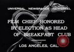 Image of Breakfast Club Los Angeles California USA, 1930, second 5 stock footage video 65675041246