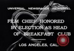 Image of Breakfast Club Los Angeles California USA, 1930, second 6 stock footage video 65675041246