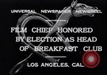 Image of Breakfast Club Los Angeles California USA, 1930, second 8 stock footage video 65675041246