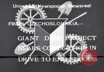 Image of Power project Frain Czechoslovakia, 1933, second 1 stock footage video 65675041251