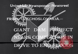 Image of Power project Frain Czechoslovakia, 1933, second 4 stock footage video 65675041251