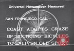 Image of Rhythm Bicycles San Francisco California USA, 1933, second 1 stock footage video 65675041254