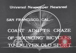 Image of Rhythm Bicycles San Francisco California USA, 1933, second 2 stock footage video 65675041254