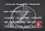 Image of Rhythm Bicycles San Francisco California USA, 1933, second 10 stock footage video 65675041254