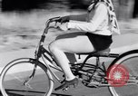 Image of Rhythm Bicycles San Francisco California USA, 1933, second 37 stock footage video 65675041254