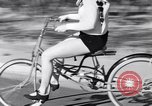 Image of Rhythm Bicycles San Francisco California USA, 1933, second 40 stock footage video 65675041254