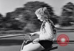 Image of Rhythm Bicycles San Francisco California USA, 1933, second 56 stock footage video 65675041254