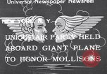 Image of James Mollison New York City United States USA, 1933, second 1 stock footage video 65675041256