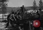 Image of tree cutting contest Luther Washington USA, 1935, second 18 stock footage video 65675041274