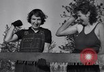 Image of tree cutting contest Luther Washington USA, 1935, second 47 stock footage video 65675041274