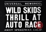 Image of auto race Ascot Speedway California USA, 1935, second 1 stock footage video 65675041278