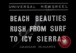 Image of surfing Venice Beach Los Angeles California USA, 1935, second 5 stock footage video 65675041280