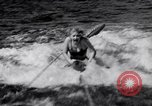 Image of surfing Venice Beach Los Angeles California USA, 1935, second 18 stock footage video 65675041280