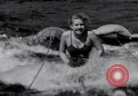 Image of surfing Venice Beach Los Angeles California USA, 1935, second 23 stock footage video 65675041280