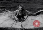 Image of surfing Venice Beach Los Angeles California USA, 1935, second 25 stock footage video 65675041280
