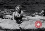 Image of surfing Venice Beach Los Angeles California USA, 1935, second 31 stock footage video 65675041280