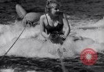 Image of surfing Venice Beach Los Angeles California USA, 1935, second 35 stock footage video 65675041280