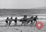 Image of surfing Venice Beach Los Angeles California USA, 1935, second 36 stock footage video 65675041280