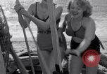 Image of surfing Venice Beach Los Angeles California USA, 1935, second 43 stock footage video 65675041280