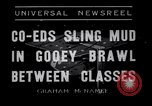 Image of mud wrestling Los Angeles California USA, 1936, second 2 stock footage video 65675041292