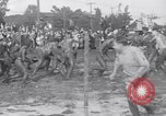Image of mud wrestling Los Angeles California USA, 1936, second 12 stock footage video 65675041292