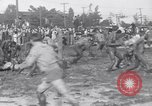 Image of mud wrestling Los Angeles California USA, 1936, second 13 stock footage video 65675041292