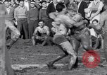 Image of mud wrestling Los Angeles California USA, 1936, second 15 stock footage video 65675041292