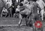 Image of mud wrestling Los Angeles California USA, 1936, second 17 stock footage video 65675041292