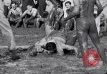 Image of mud wrestling Los Angeles California USA, 1936, second 18 stock footage video 65675041292