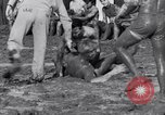 Image of mud wrestling Los Angeles California USA, 1936, second 19 stock footage video 65675041292