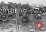 Image of mud wrestling Los Angeles California USA, 1936, second 21 stock footage video 65675041292