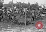 Image of mud wrestling Los Angeles California USA, 1936, second 22 stock footage video 65675041292