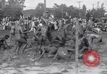 Image of mud wrestling Los Angeles California USA, 1936, second 23 stock footage video 65675041292