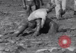 Image of mud wrestling Los Angeles California USA, 1936, second 30 stock footage video 65675041292