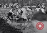 Image of mud wrestling Los Angeles California USA, 1936, second 33 stock footage video 65675041292
