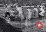 Image of mud wrestling Los Angeles California USA, 1936, second 34 stock footage video 65675041292
