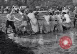 Image of mud wrestling Los Angeles California USA, 1936, second 35 stock footage video 65675041292