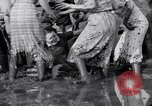 Image of mud wrestling Los Angeles California USA, 1936, second 37 stock footage video 65675041292