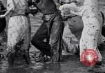 Image of mud wrestling Los Angeles California USA, 1936, second 41 stock footage video 65675041292