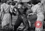 Image of mud wrestling Los Angeles California USA, 1936, second 42 stock footage video 65675041292