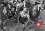 Image of mud wrestling Los Angeles California USA, 1936, second 46 stock footage video 65675041292