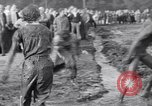 Image of mud wrestling Los Angeles California USA, 1936, second 52 stock footage video 65675041292